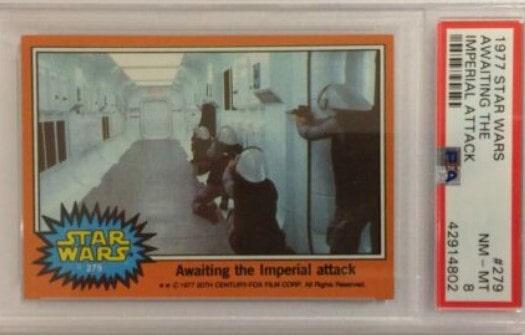 1977 Topps Star Wars Series 5 Rebels #279