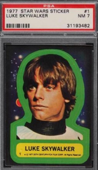 1977 Topps Star Wars Stickers