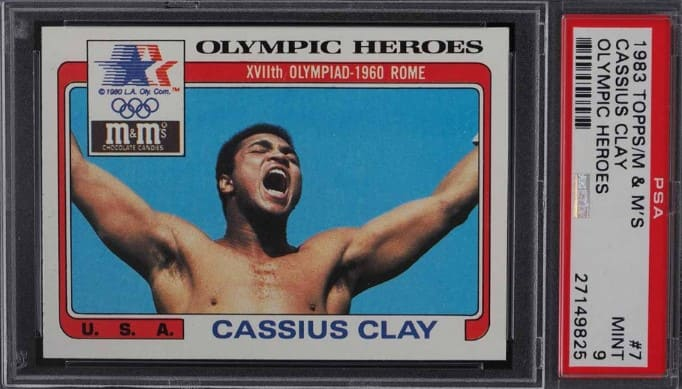 1983 Topps Olympic Heroes Cassius Clay #7