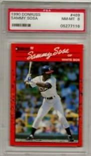 1990 Donruss Sammy Sosa Rookie Card #489