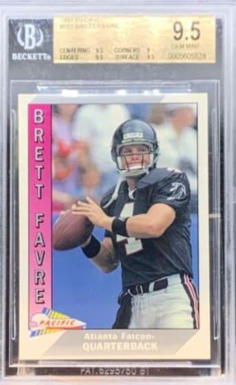1991 Pacific Brett Favre RC #551
