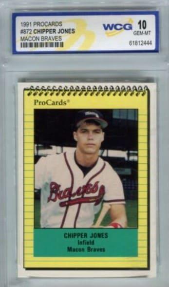 1991 ProCards Chipper Jones Rookie Card #872