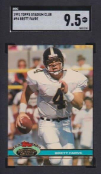 1991 Topps Stadium Club Brett Favre RC #94