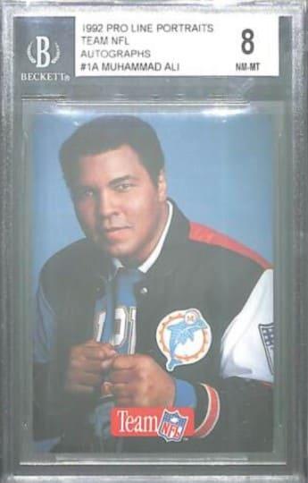 1992 Pro Line Portraits Muhammad Ali #1a