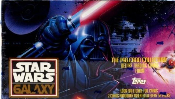 1993 Topps Star Wars Galaxy Cards