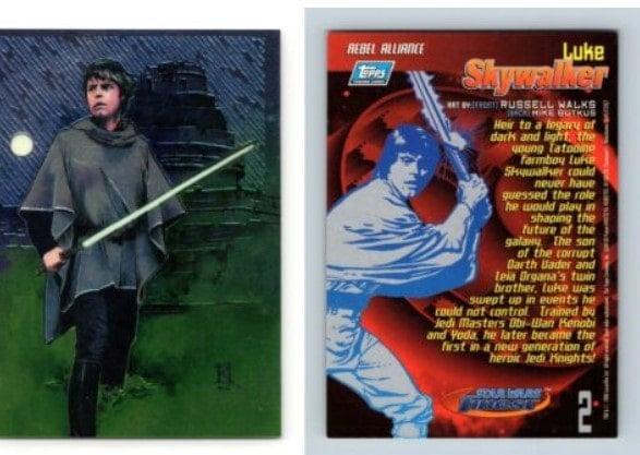#2 Luke Skywalker