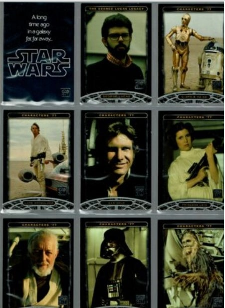 2007 Topps Star Wars 30th Anniversary Cards