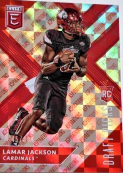 2018 Elite Draft Picks Lamar Jackson RC #104