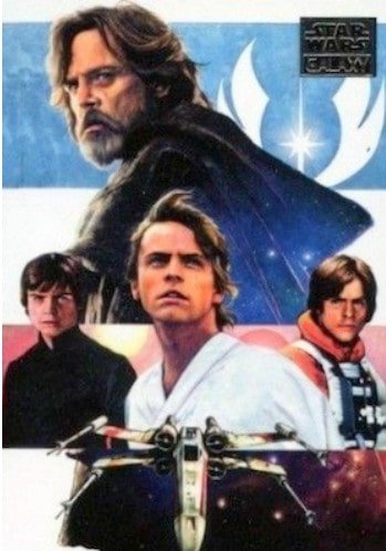 2018 Star Wars Galaxy Cards