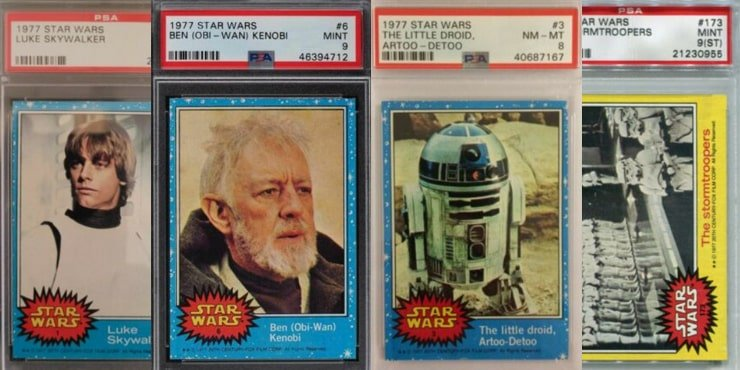 Best Star Wars Trading Cards for Deatured Image