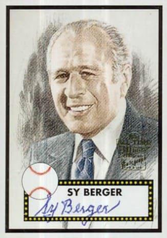 Sy Berger card