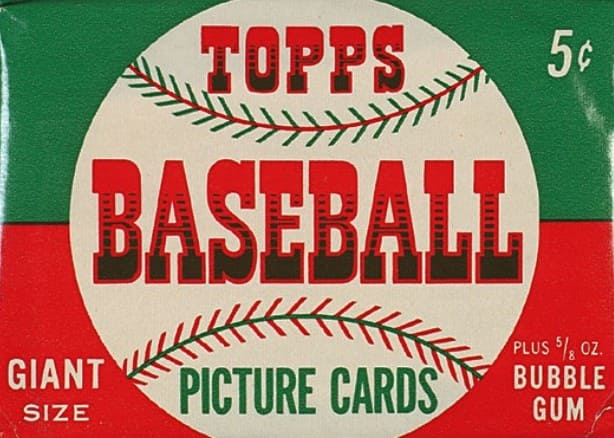 Topps baseball Picture card