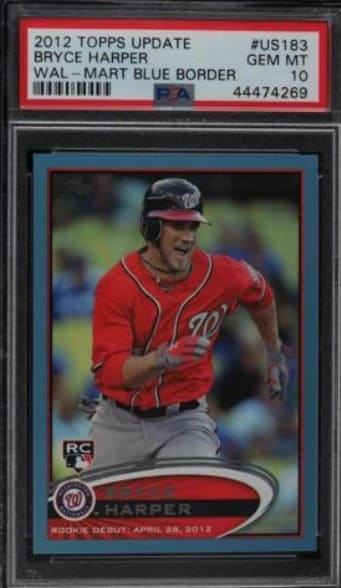 2012 Topps Update Wal-Mart Bryce Harper RC #US183