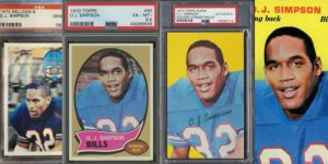 Best O.J. Simpson Rookie Cards for Featured Image