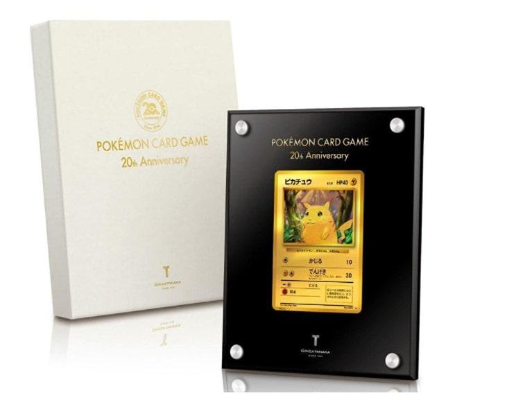 2016 20th Anniversary 24-Karat Gold Pikachu
