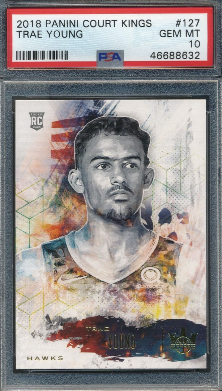 2018 Court Kings Level I - IV Trae Young RC