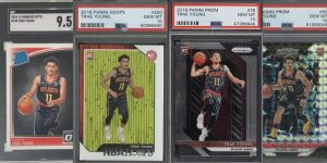 Best Trae Young Rookie Cards to Consider for Featured Image