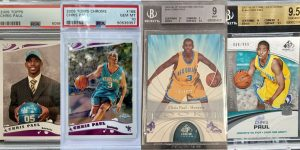 Chris Paul Rookie Cards for Featured Image