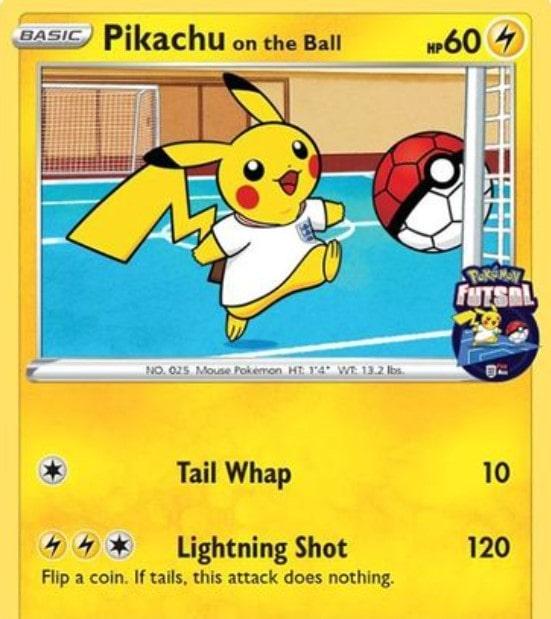 Pikachu on the Ball