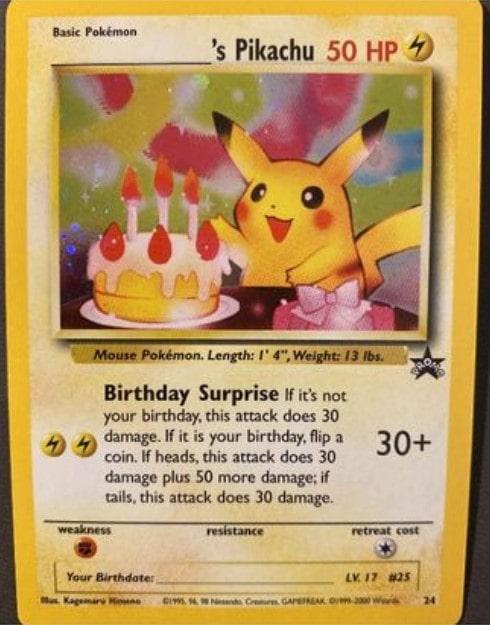 ___________'s Pikachu