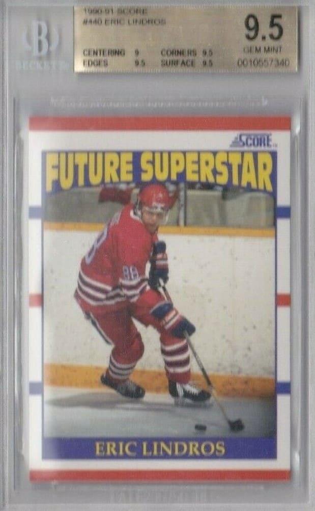 1990-91 Score Future Superstar Eric Lindros RC #440
