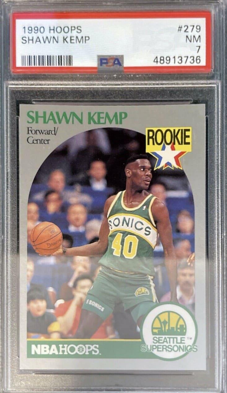 1990 NBA Hoops Shawn Kemp RC #279