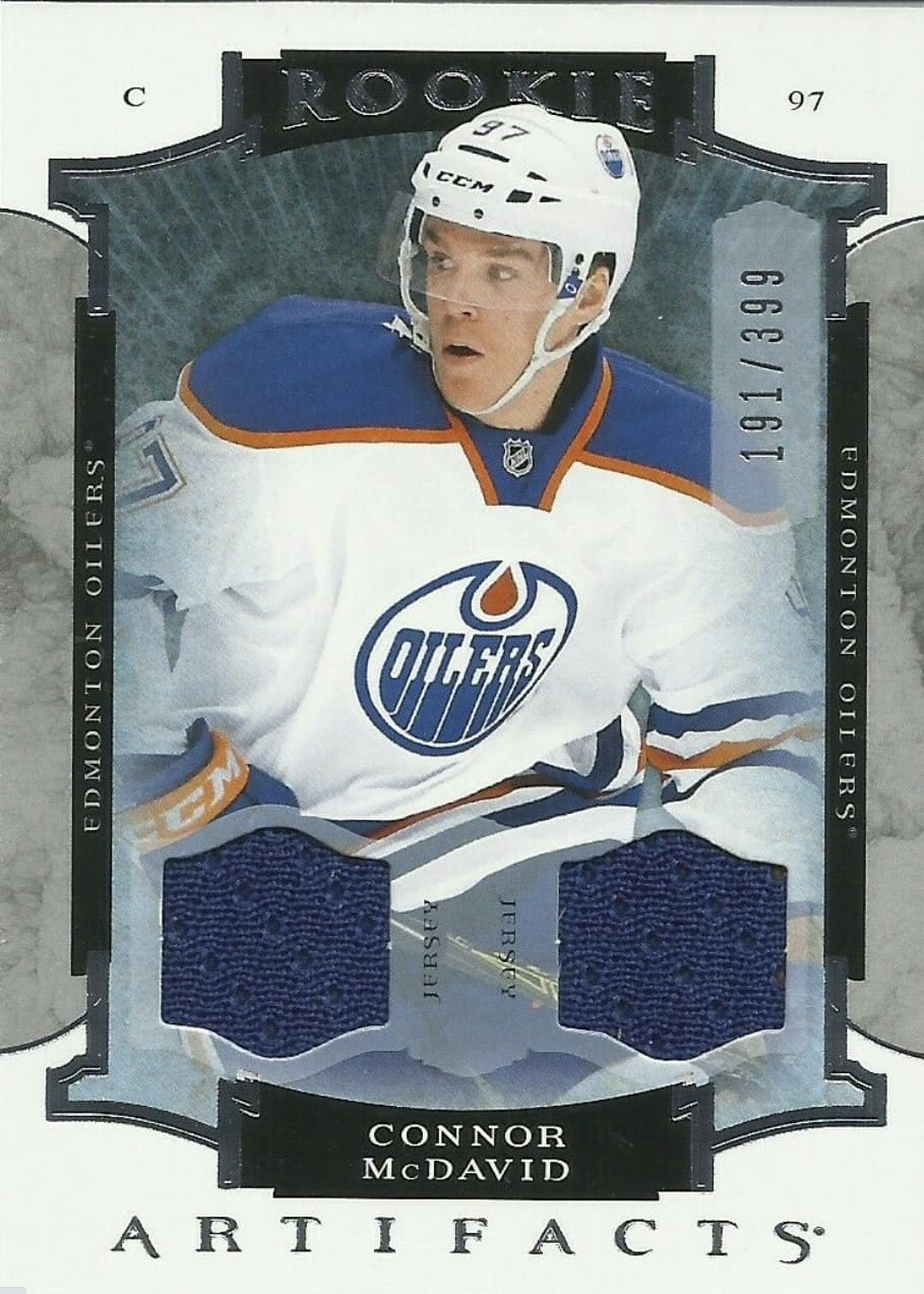 2015 UD Artifacts Connor McDavid RC #191