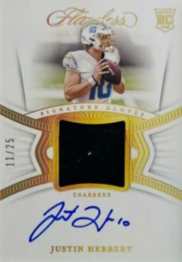 2020 Flawless Justin Herbert RC Auto Patch