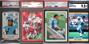 Barry Sanders Rookie Card Checklist for Featured Image