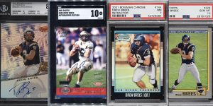Best Drew Brees Rookie Card Options for Featured Image