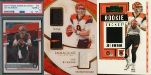Best Joe Burrow Rookie Card Options for Featured Image