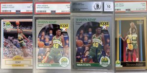 Shawn Kemp Rookie Card Checklist for Featured Image