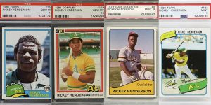 Top Rickey Henderson Rookie Card for Featured Image