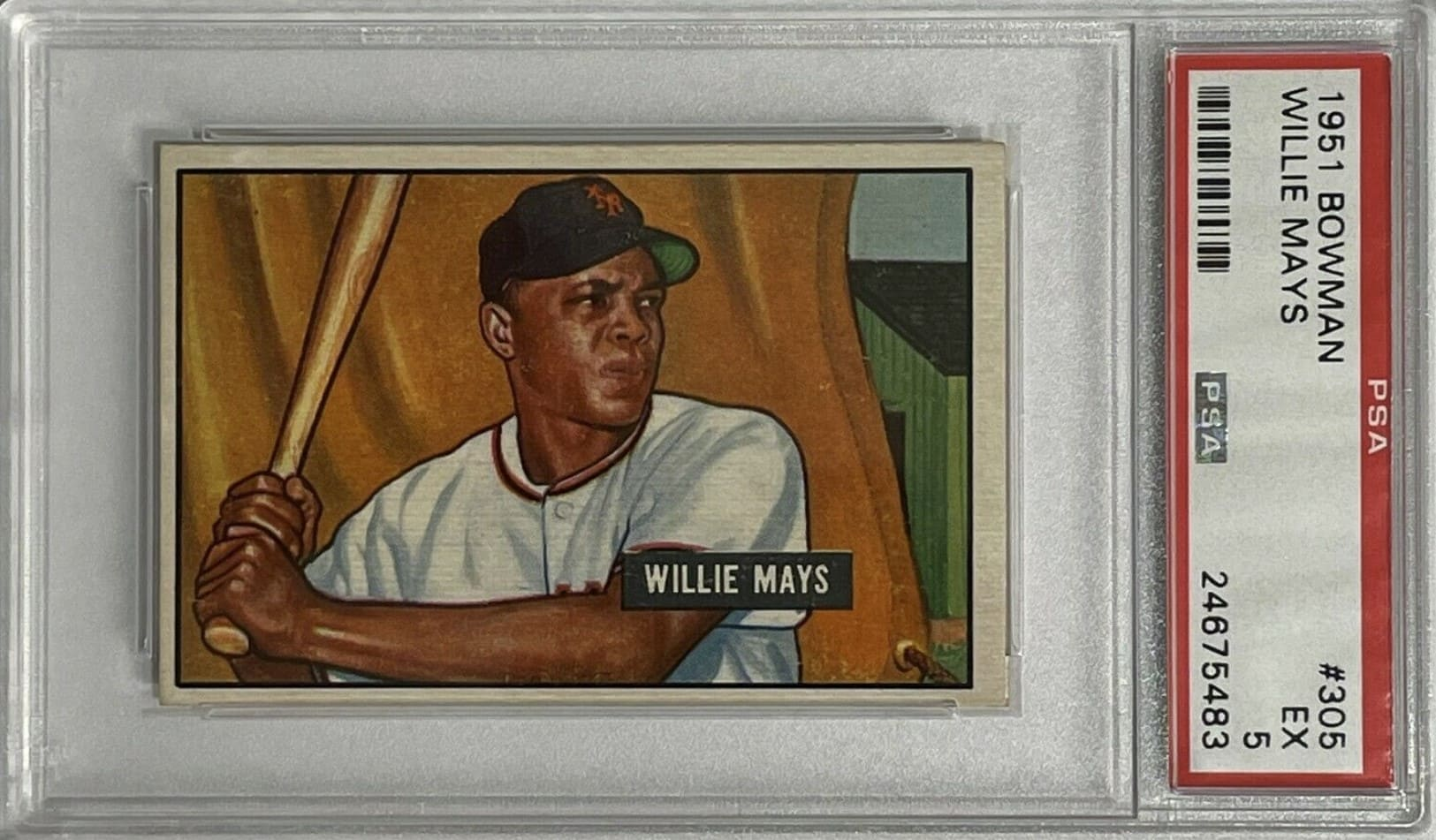 1951 Bowman Willie Mays RC #305