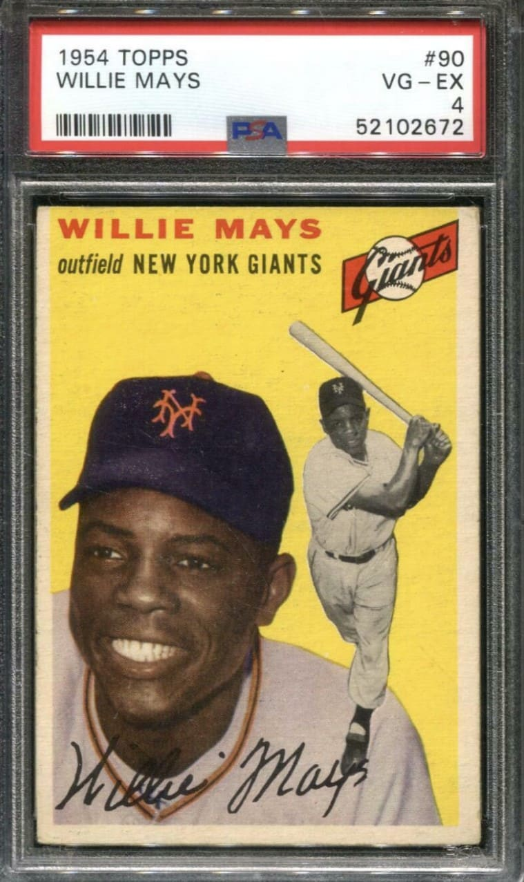 1954 Topps Willie Mays #90