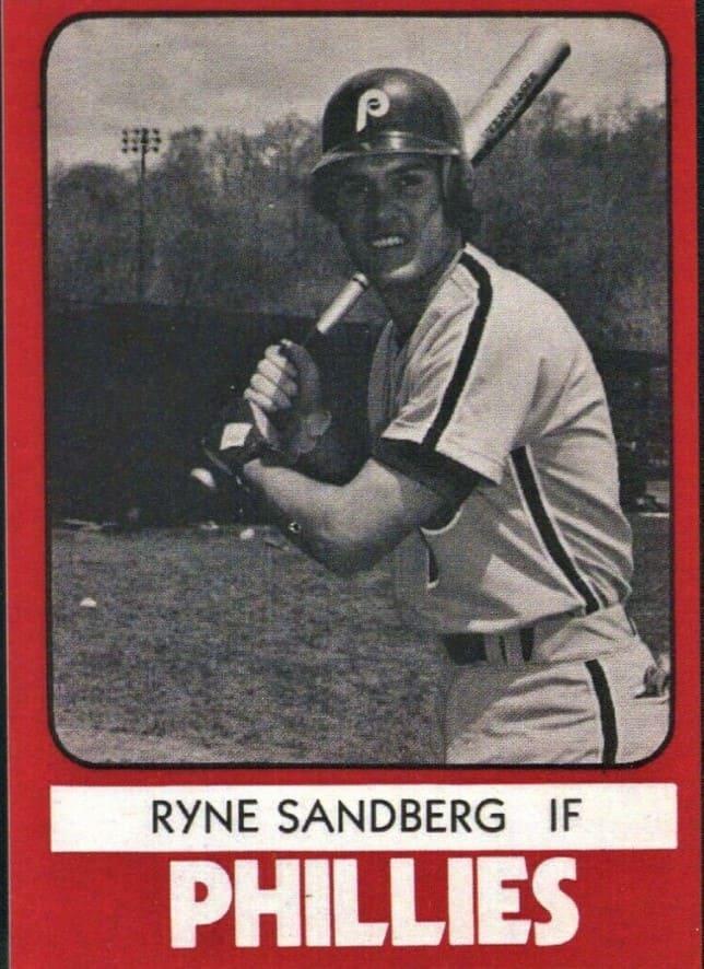 1980 Phillies TCMA Ryne Sandberg #22