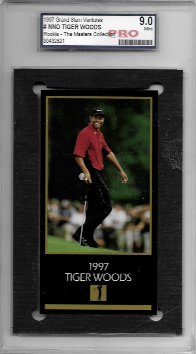 1997 Grand Slam Ventures Tiger Woods #NNO