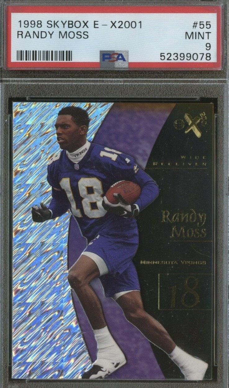 1998 Skybox E-X2001 Randy Moss RC #55