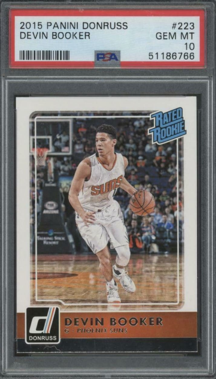 2015 Donruss Rated Rookie Devin Booker #223