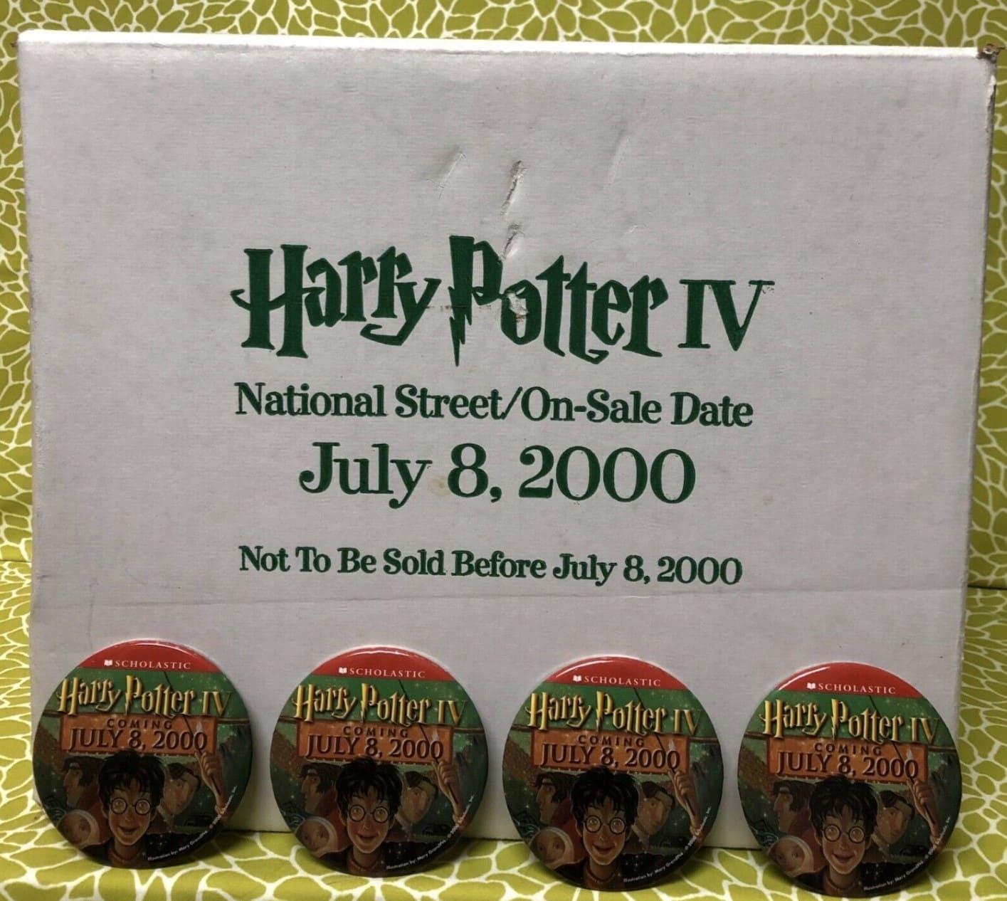 Harry Potter National Street-On-Sale Date July 8 2000