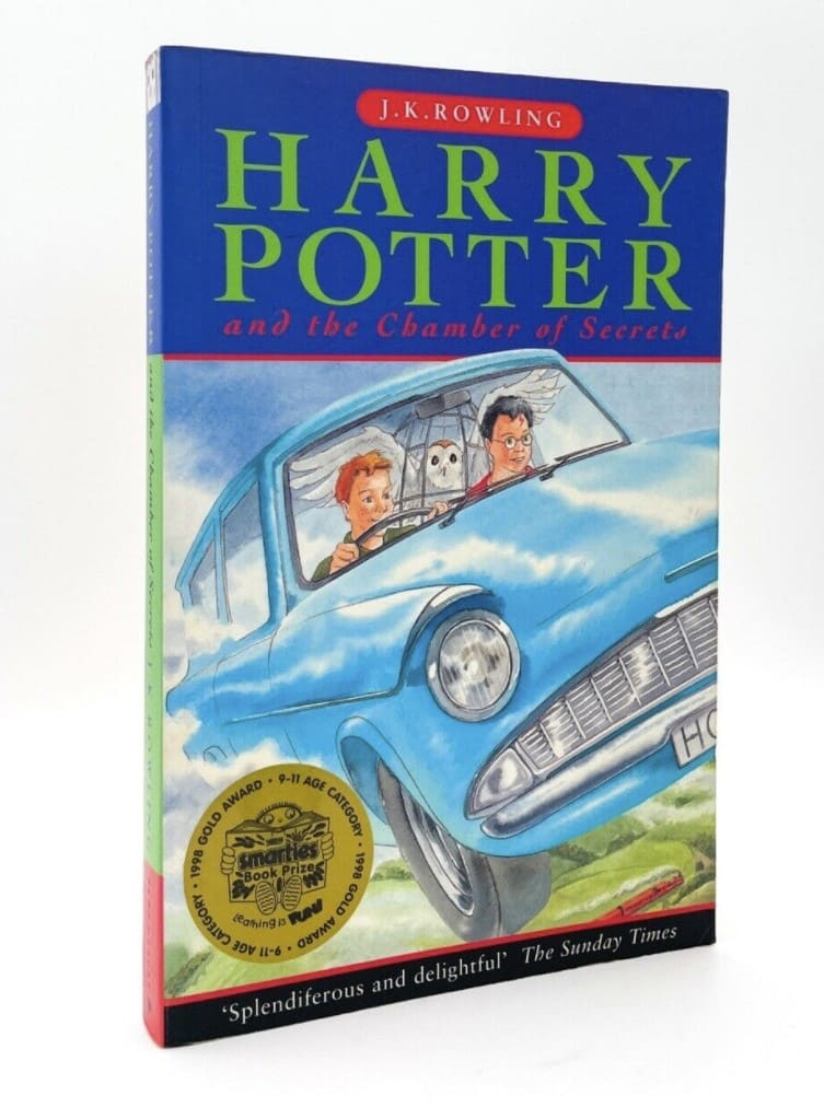 Harry Potter and the Chamber of Secrets (Book 2, 1998 UK