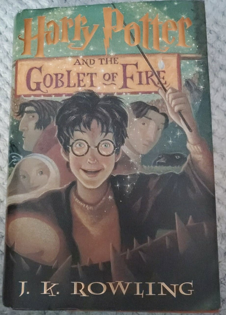 Harry Potter and the Goblet of Fire (Book 4, 2000)