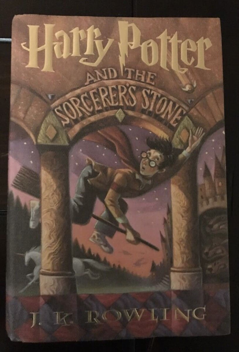 Harry Potter and the Sorcerer's Stone (Book 1 US Edition, 1998)