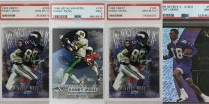 Top Randy Moss Rookie Cards to Collect for Featured IMage