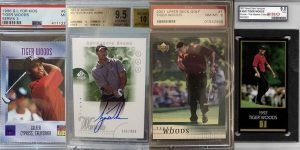 Top Tiger Woods Rookie Cards for Featured Image