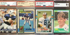 Troy Aikman Rookie Card Checklist for Featured Image