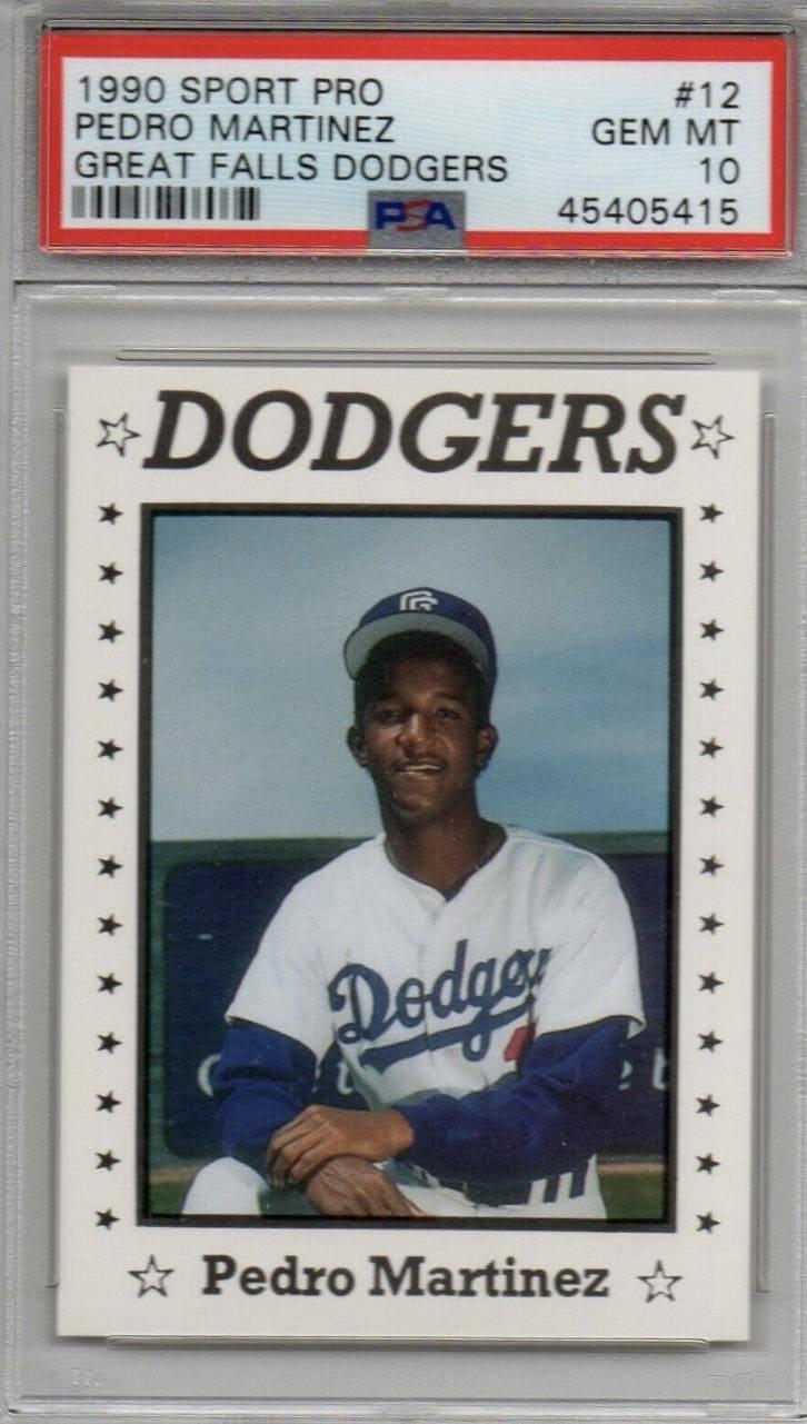 1990 Sport Pro Pedro Martinez Great Falls Dodgers #12