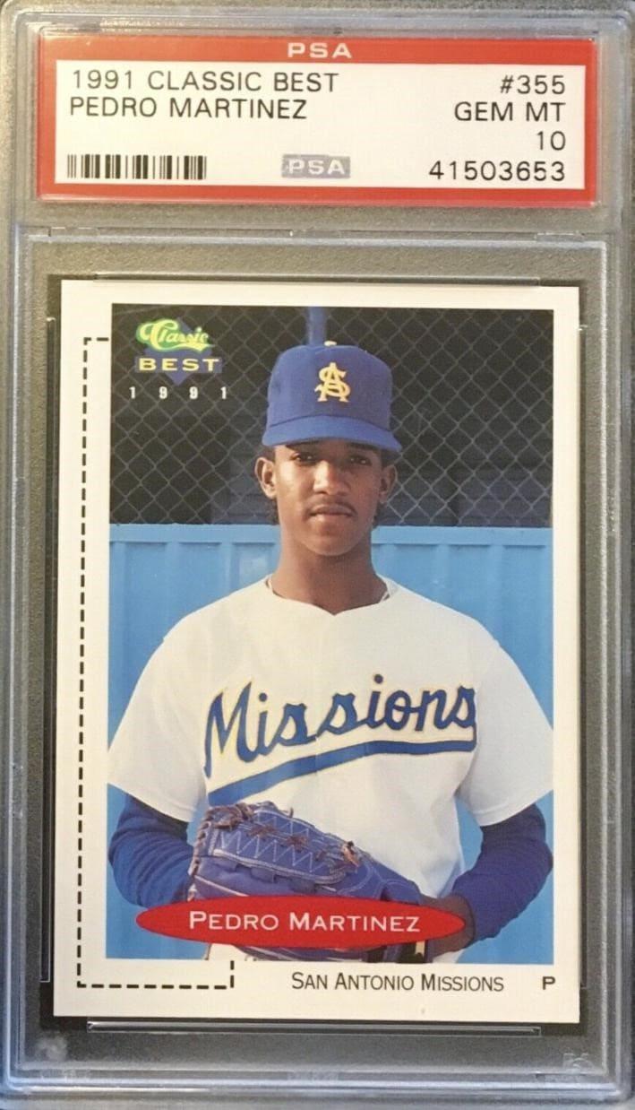 1991 Classic Best Pedro Martinez #355