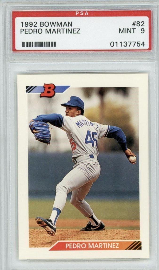 1992 Bowman Pedro Martinez RC #82