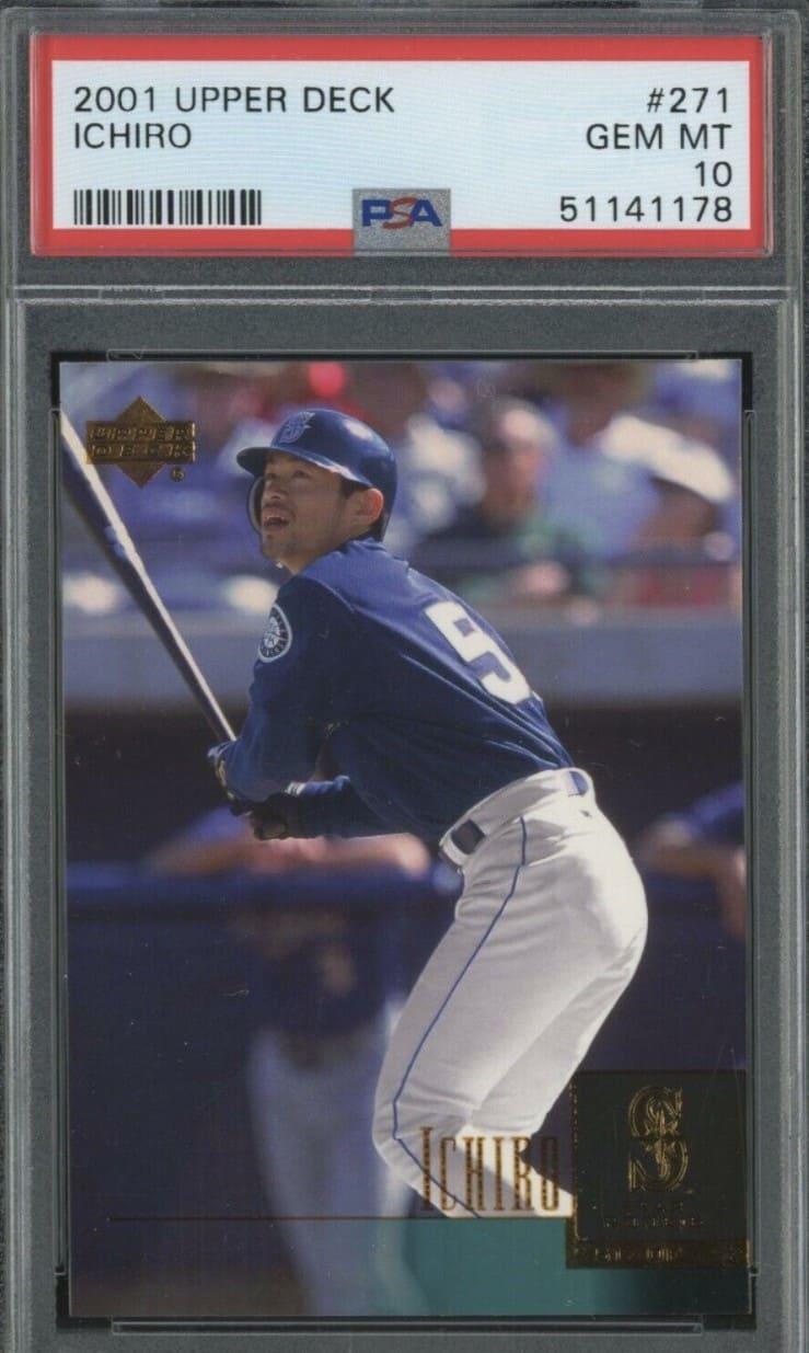 2001 Upper Deck Ichiro Suzuki RC #271